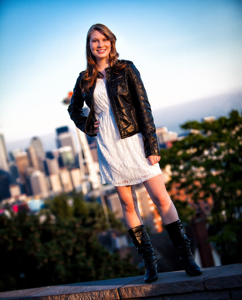 Seattle Senior Photo Kerry Park